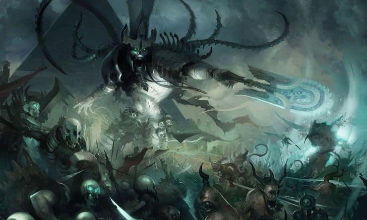 Undead Skeleton Nagash