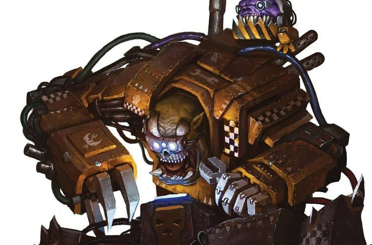 warhammer 40 ork tinkerer by akonstad