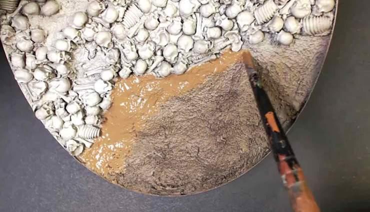 Cutting in Dirt