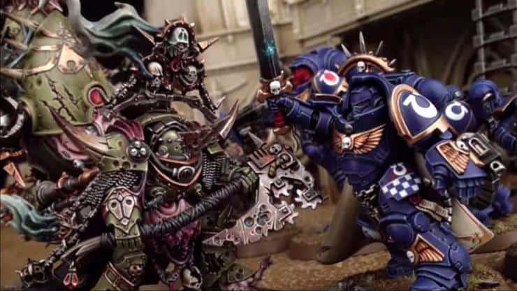 Dark Imperium marine chaos hor