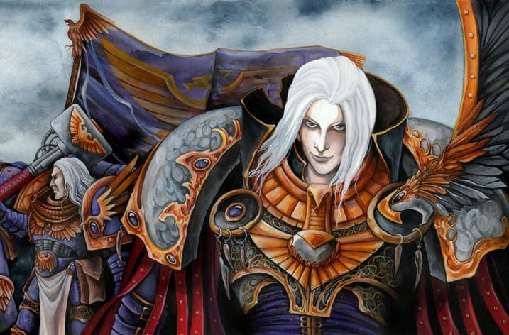 Fulgrim for the emperor by selenah