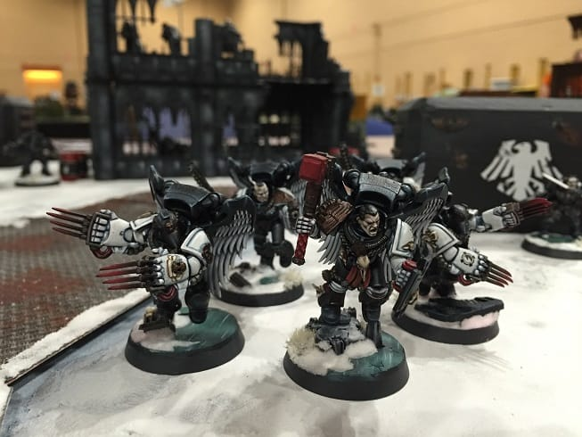 Raven Guard at Adepticon: Armies On Parade - Spikey Bits