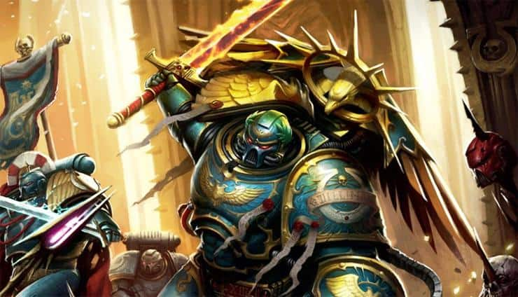New 40k Characters Guilliman Wal Hor
