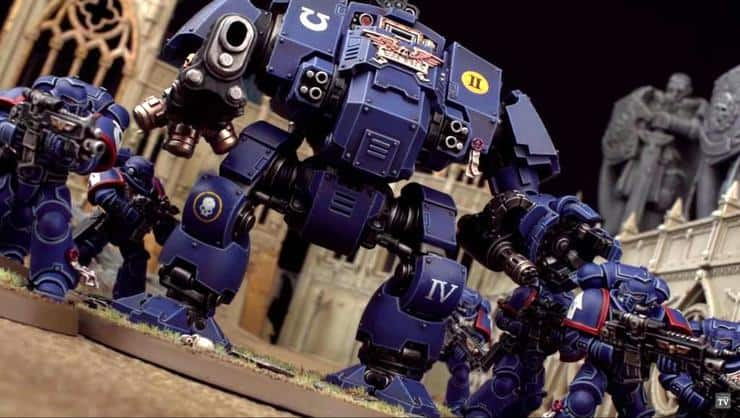 Image result for space marine redemptor dreadnought