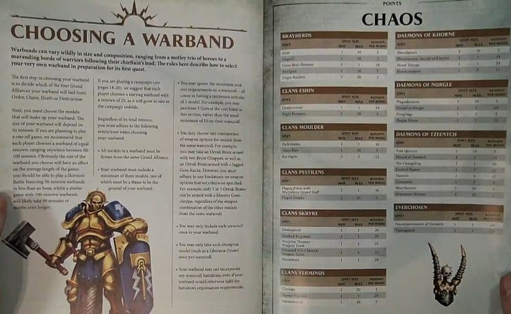 More Tips for AOS Skirmish Warband Building - Spikey Bits
