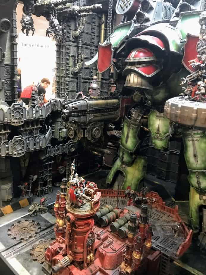 New Studio Display Unveiled: Warlord Titan Dock - Spikey Bits