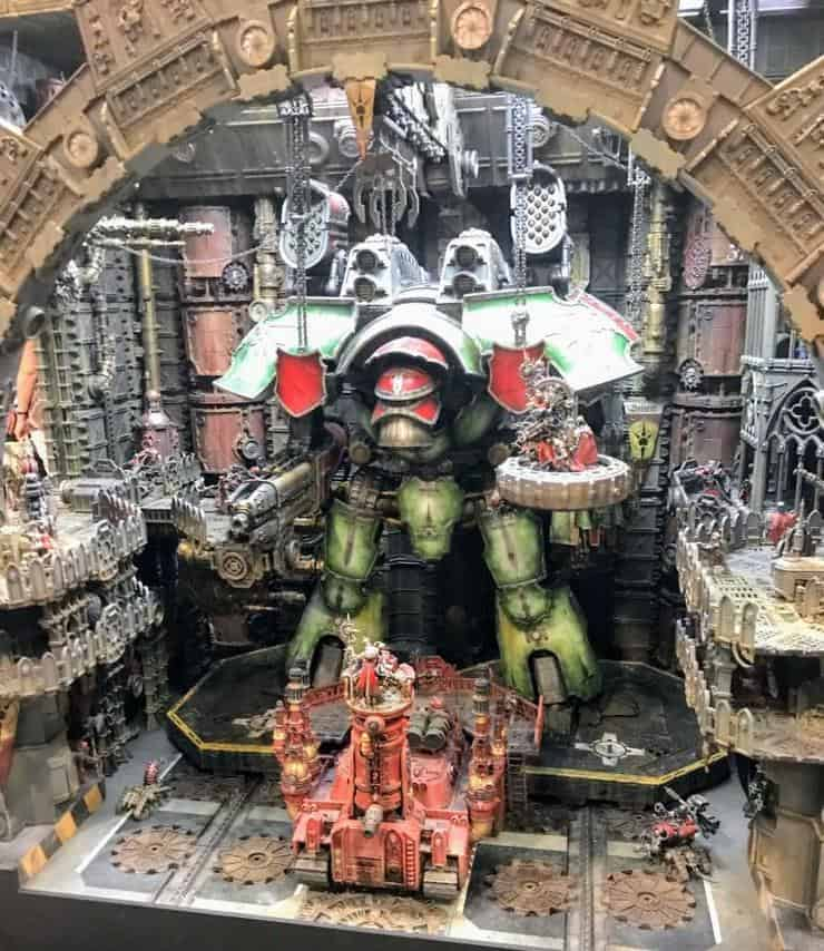New Studio Display Unveiled Warlord Titan Dock Spikey Bits