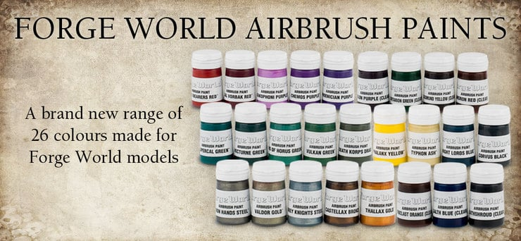 airbrush paints forge world