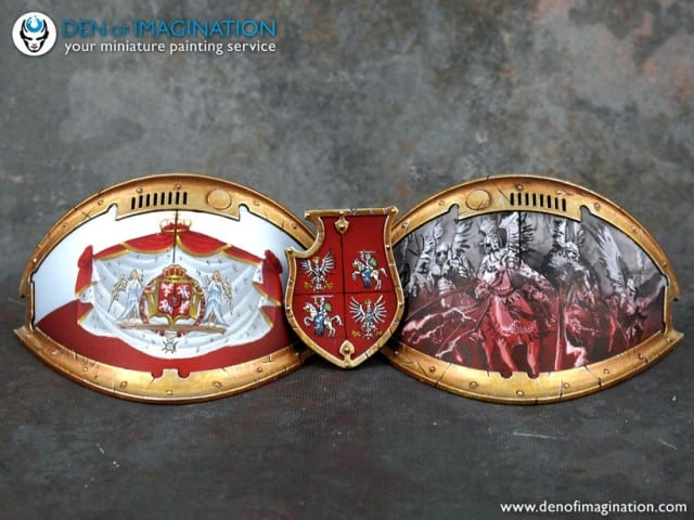 Winged Hussar Knight Belt Buckle