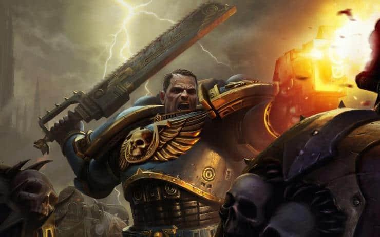 warhammer 40k space marine wal hor