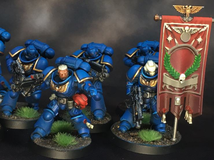 white metal games primaris space marines painted giveaway twitch