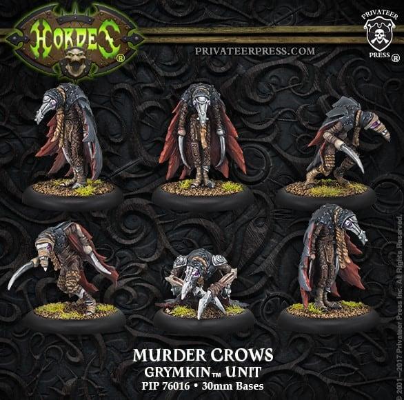 Murder Crows Grymkin
