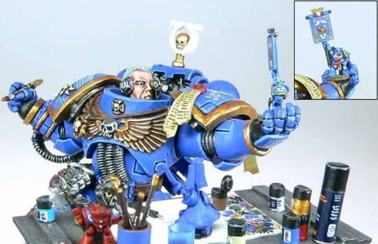 Space Marine Painter