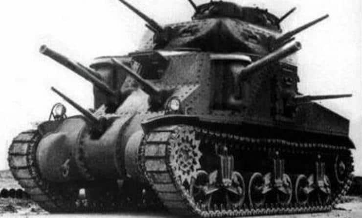 Tank Guns Wal Hor