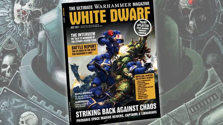 White Dwarf 2017 July
