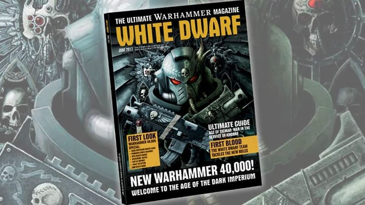 White Dwarf June 2017 Post