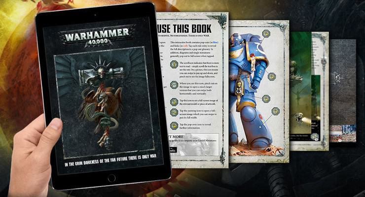 GW Releases 8th Edition PDF & iOS Digital Rules - Spikey Bits