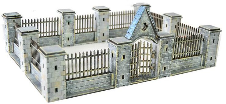 New Gothic Ruins Terrain From Multiverse Gaming! - Spikey Bits
