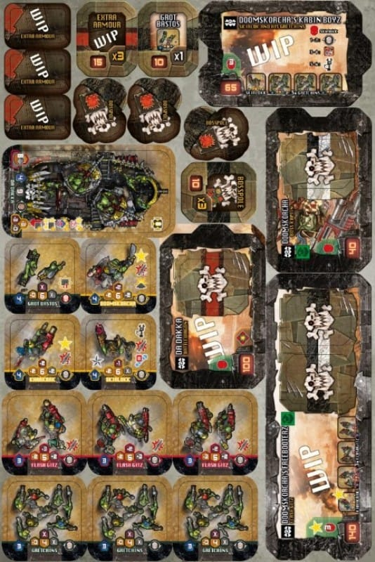Heroes of Black Reach Orks