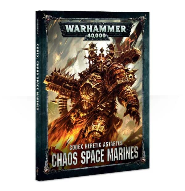 Chaos SpaceMarines Codex