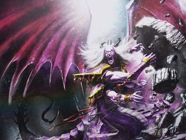 Fulgrim Is Daemon Primarch Fulgrim Next For 40k?