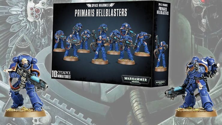 Primaris Hellblasters Box Post