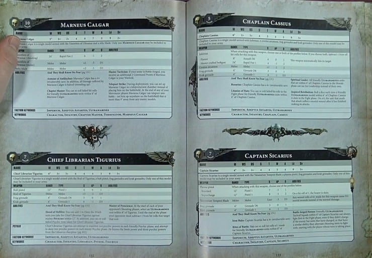 land raider terminus ultra 8th edition