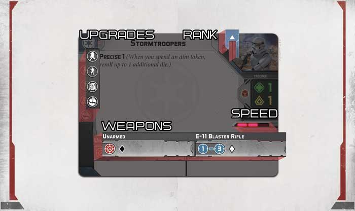 star wars legion unit card