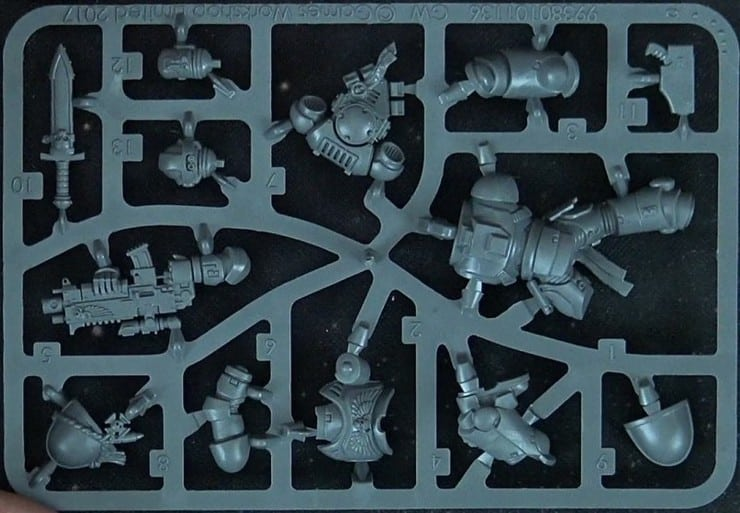 30th anniv edition sprue