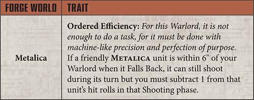 Admech Focus Metalica Ordered Efficiency