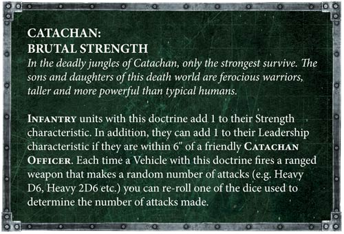 Astra Militarum Brutal Strength