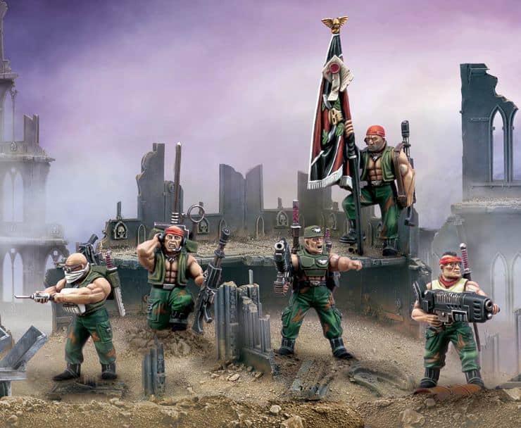 Astra Militarum Command Squad