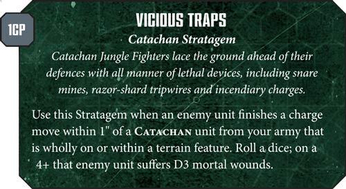 Astra Militarum Vicious Traps