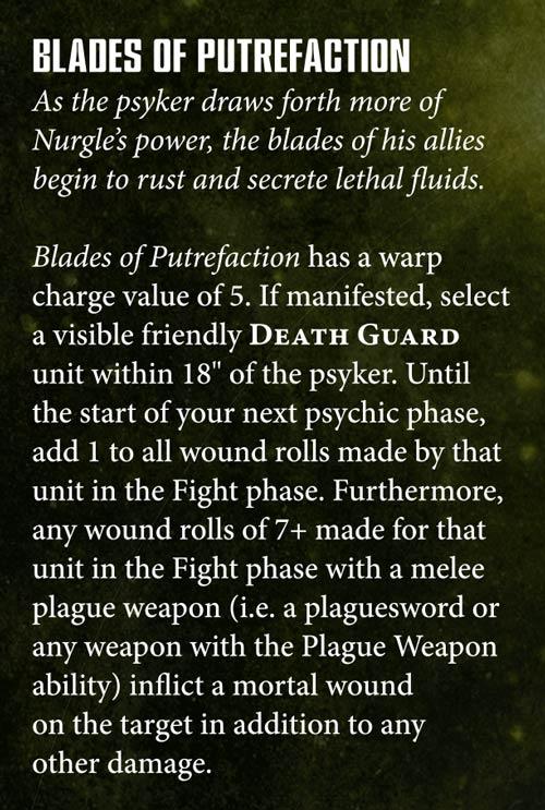 Death Guard Teasers