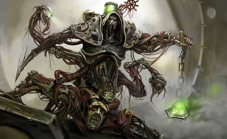 Dark Mechanicus Cawl
