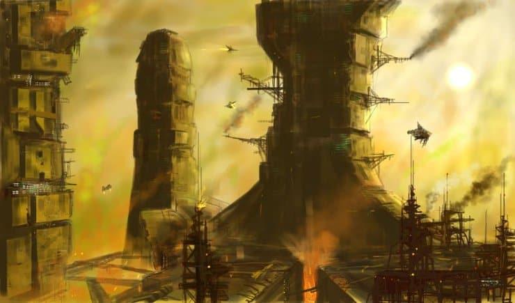 Forge World art