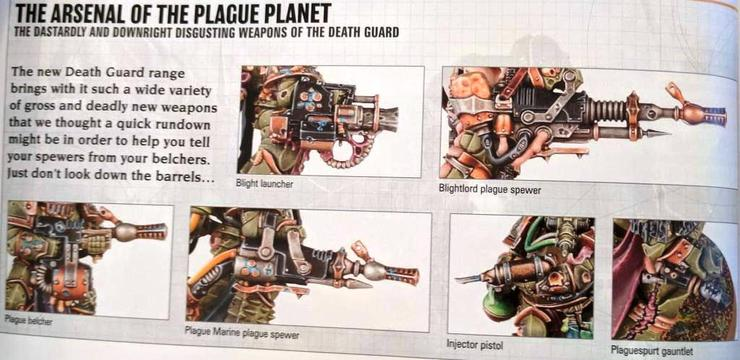 OCT WD Death Guard Weapons