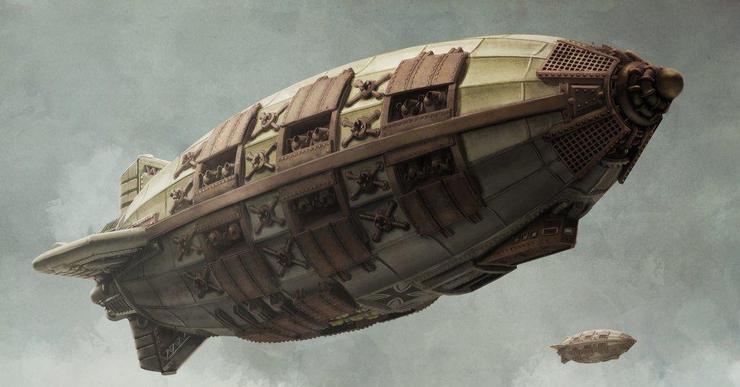 Spartan games Airship