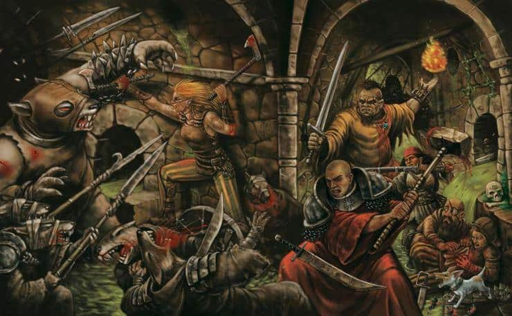 Warhammer RPG art