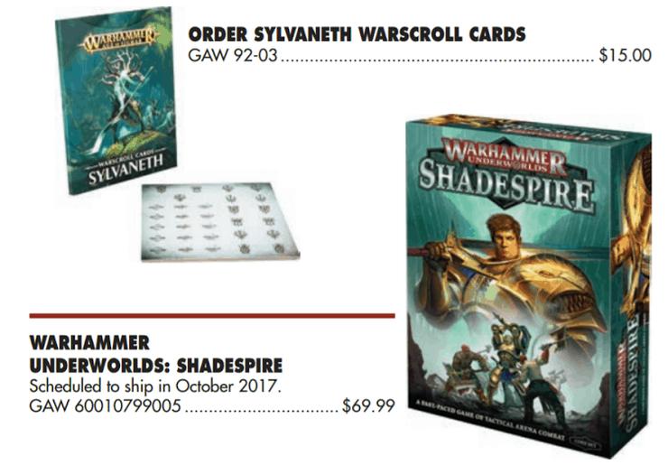 Warhammer Underworlds Shadesprire