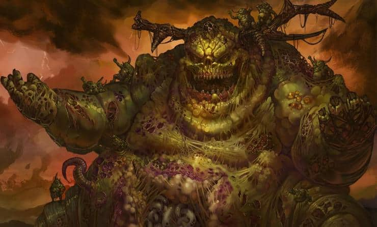 great unclean one nurgle death guard wal hor