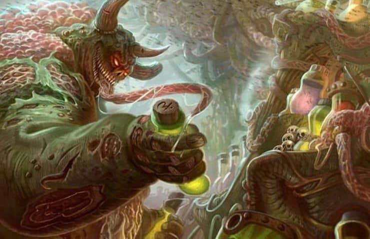Nurgle Alchemy Wal Hor