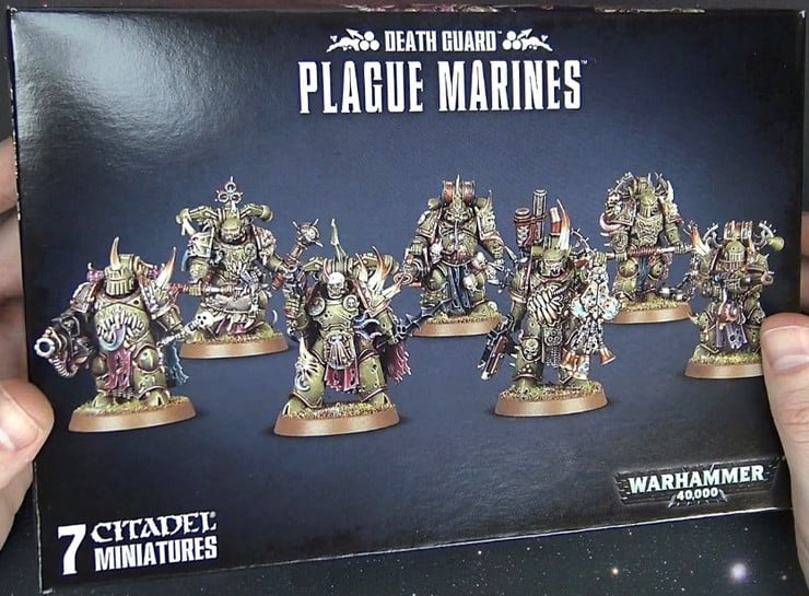 Plague Marines box