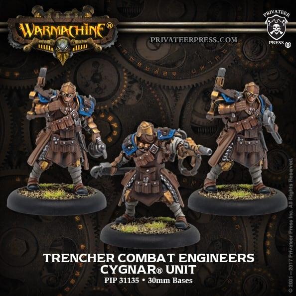 Trencher Combat Engineers