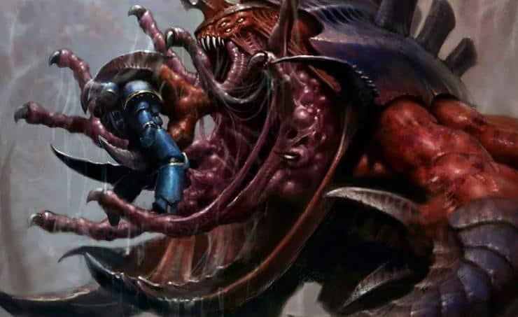 Hive Fleet Leviathan, Largest Tyranid Threat: LORE - Spikey Bits
