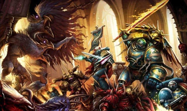 The Many Gods of Warhammer 40k Pic of the Day Spikey BitsWarhammer 40k Chaos Gods