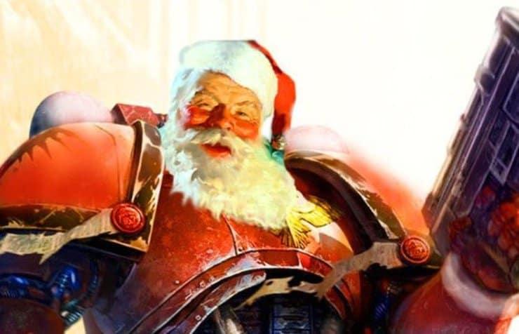 Warhammer Santa Christmas Wal Hor Age of Sigmar bundles