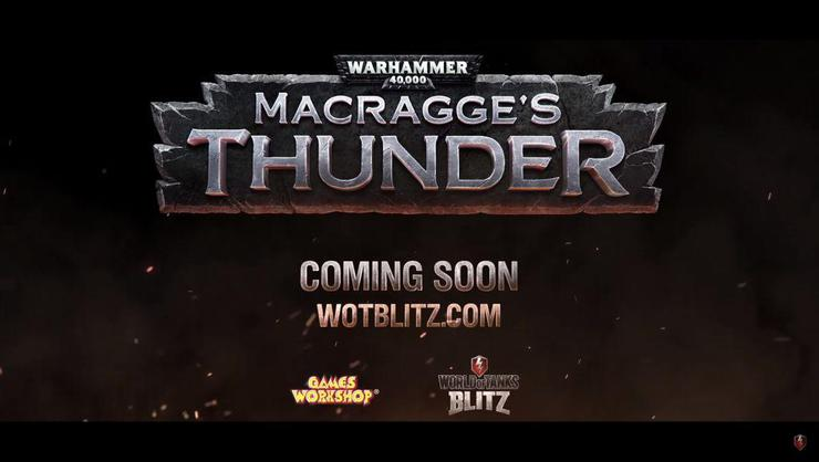 World of Tanks Macragge's Thunder Warhammer