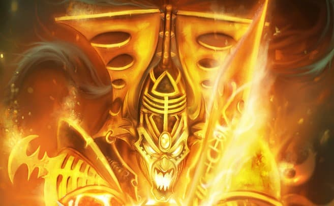 avatar of khaine eldar hor wal