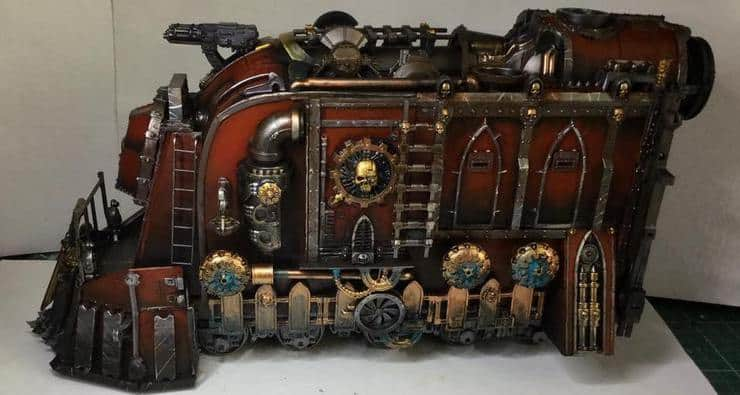 warhammer 40k train conversion